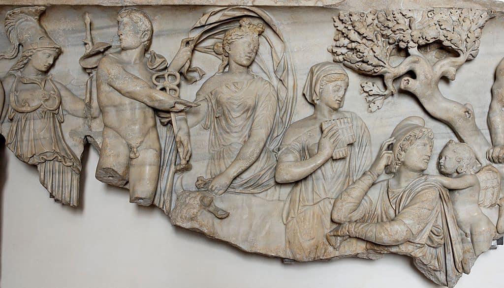 fresco, judgment of Paris