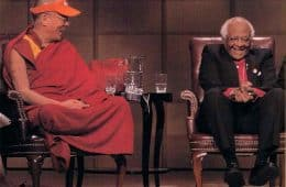The Dalai Lama and Bishop Desmond Tutu