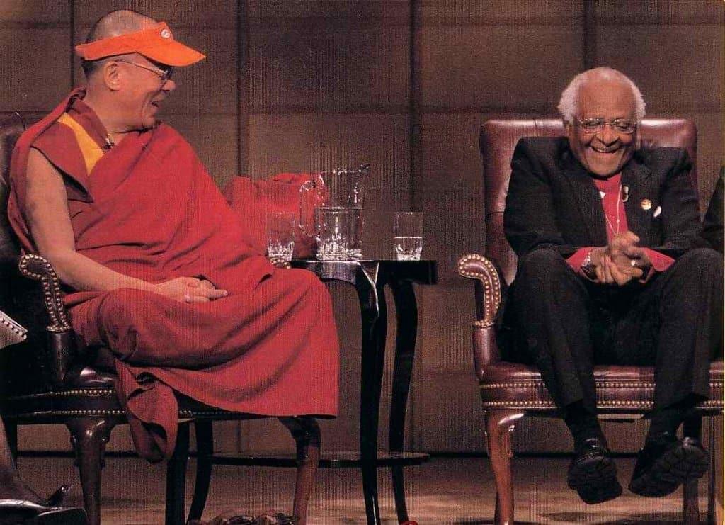The Dalai Lama and Bishop Desmond Tutu