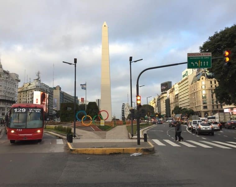 Street in Buenos Aires - An American in Argentina
