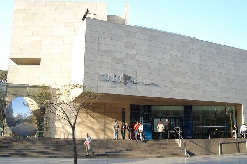 MALBA museum - First (and last) tango in Buenos Aires