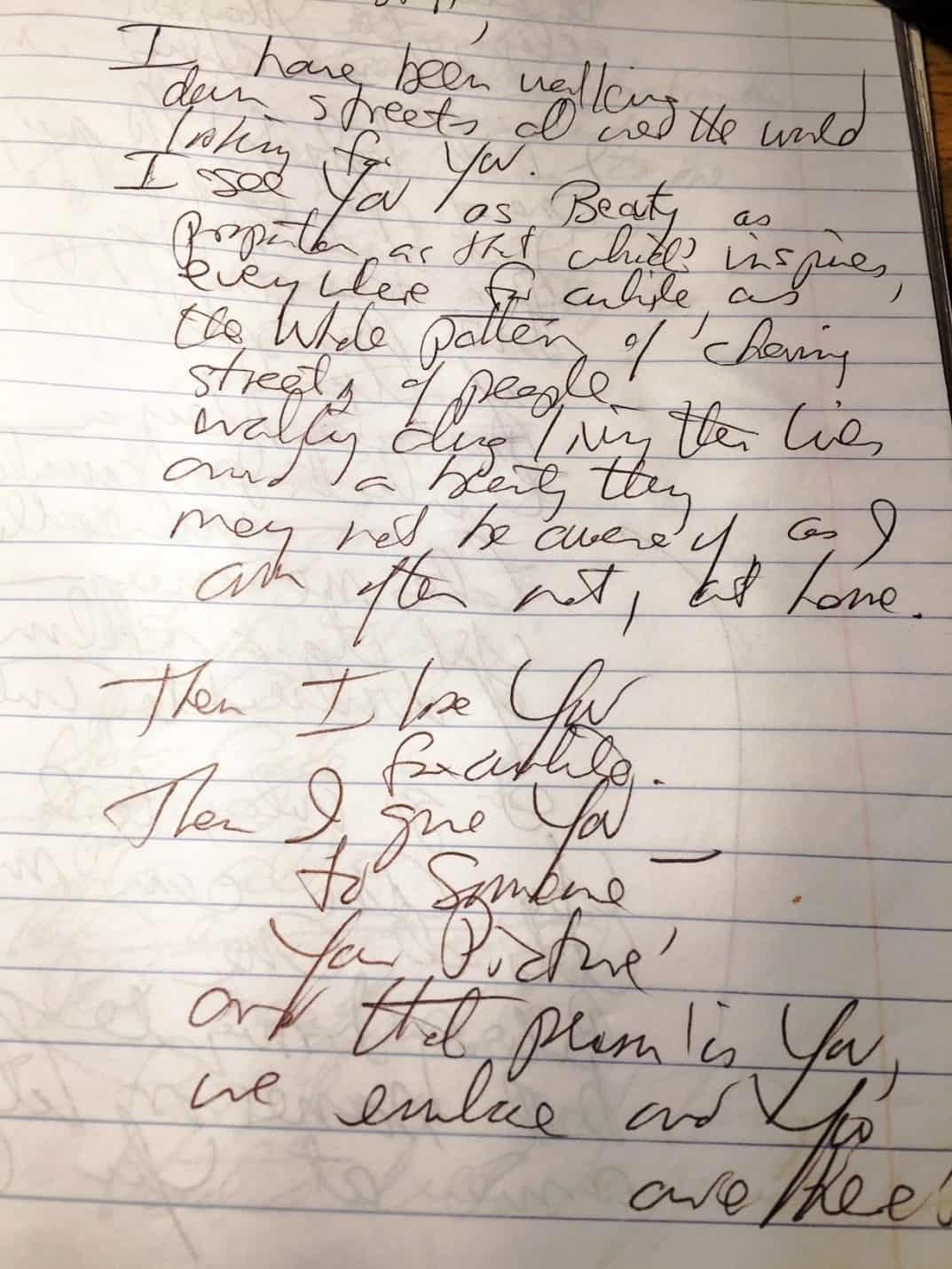 Poem written at Poetry Cafe - An American in Argentina