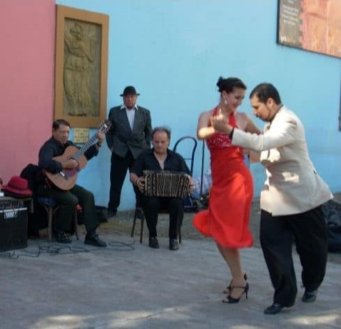 Tango scene - First (and last) tango in Buenos Aires