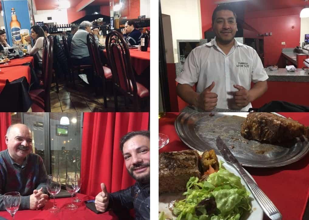 Parrilla Lo de Tato, a restaurant specializing in Argentine beef - La Plata
