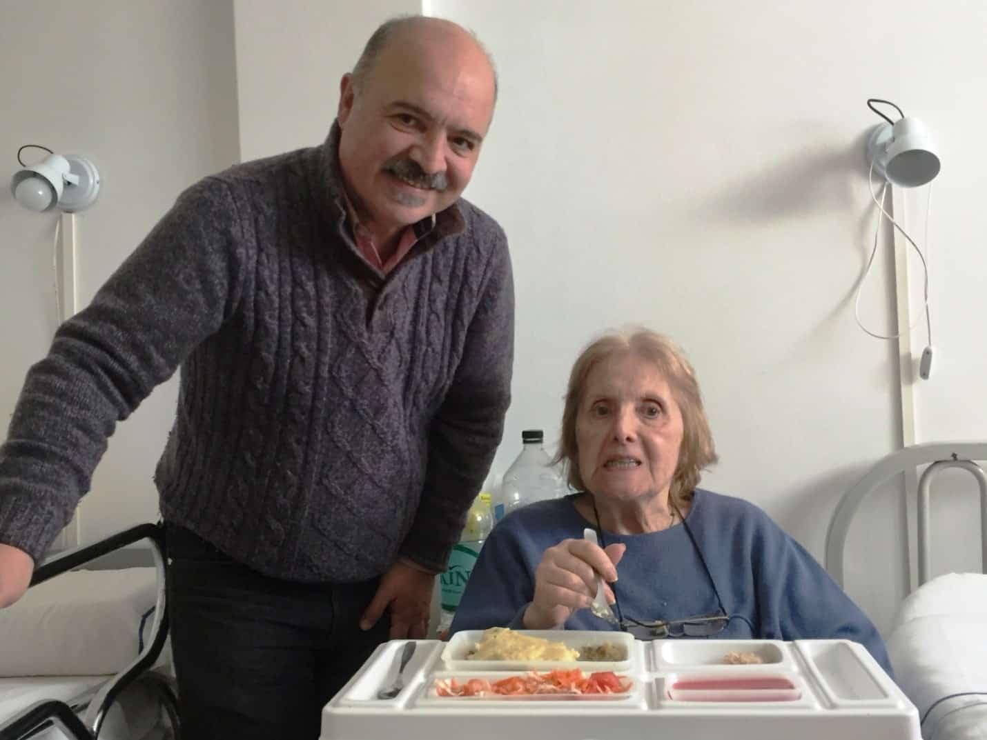 Elena, mother of Carlos - La Plata