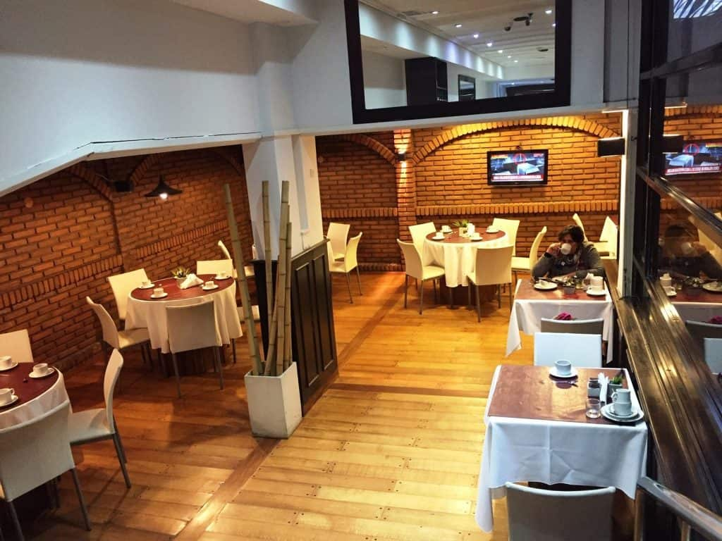 """Corregidor Hotel restaurant - """"The personal"""" touch"""" in a big Argentine city"""