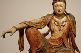 Statue of a Bodhisattva - No time to lose