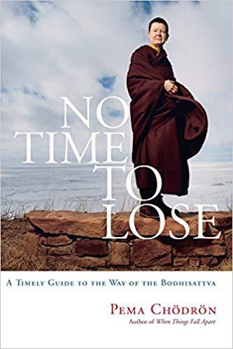 Front cover of book - No time to lose