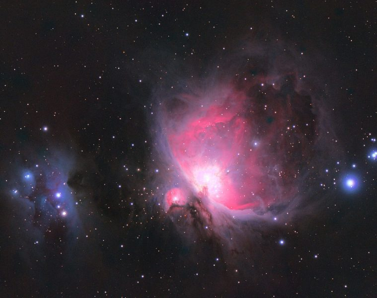 Orion nebula and Running Man nebula - Poems by Sophia Falco