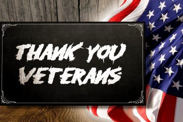 thank you veterans poster