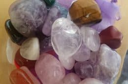 Group of various healing crystals - Crystals