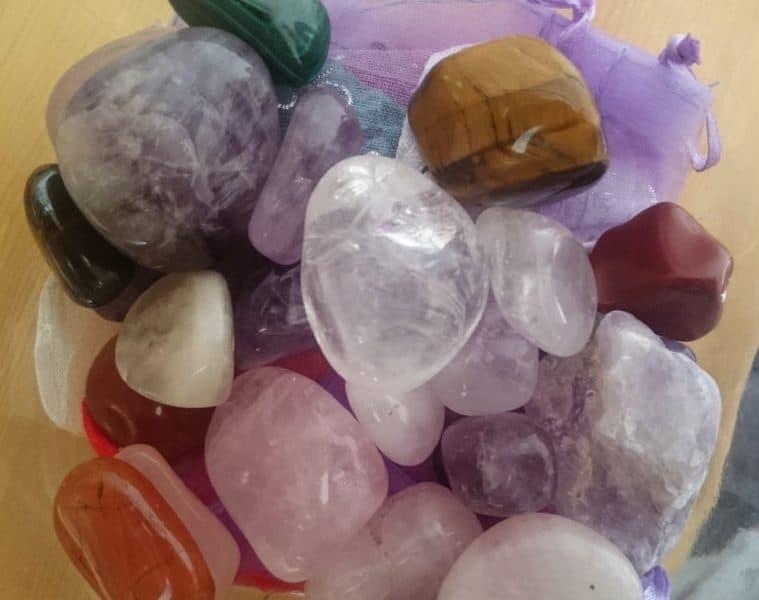 Group of various healing crystals - Crystals