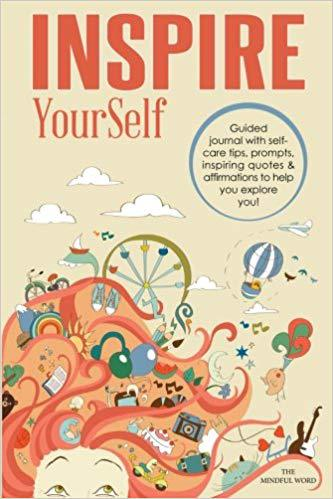 Front cover of book - Inspire YourSelf: Guided Journal