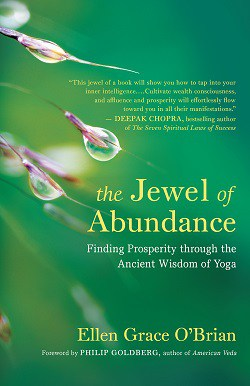 The Jewel of Abundance front cover - The 4 basic stages of meditation