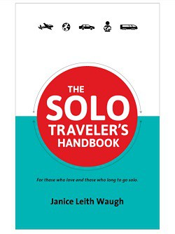 Front cover of book - The Solo Traveler's Handbook