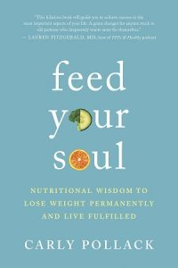 Front cover of Feed Your Soul book - Real food vs. fake food