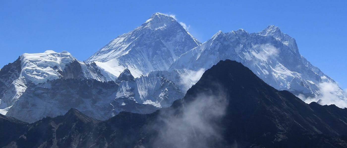 "Mount Everest - ""Because it's there"""