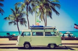 VW camper van - Cost-effective travel