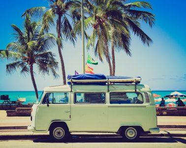 VW camper van - Cost-effective travel