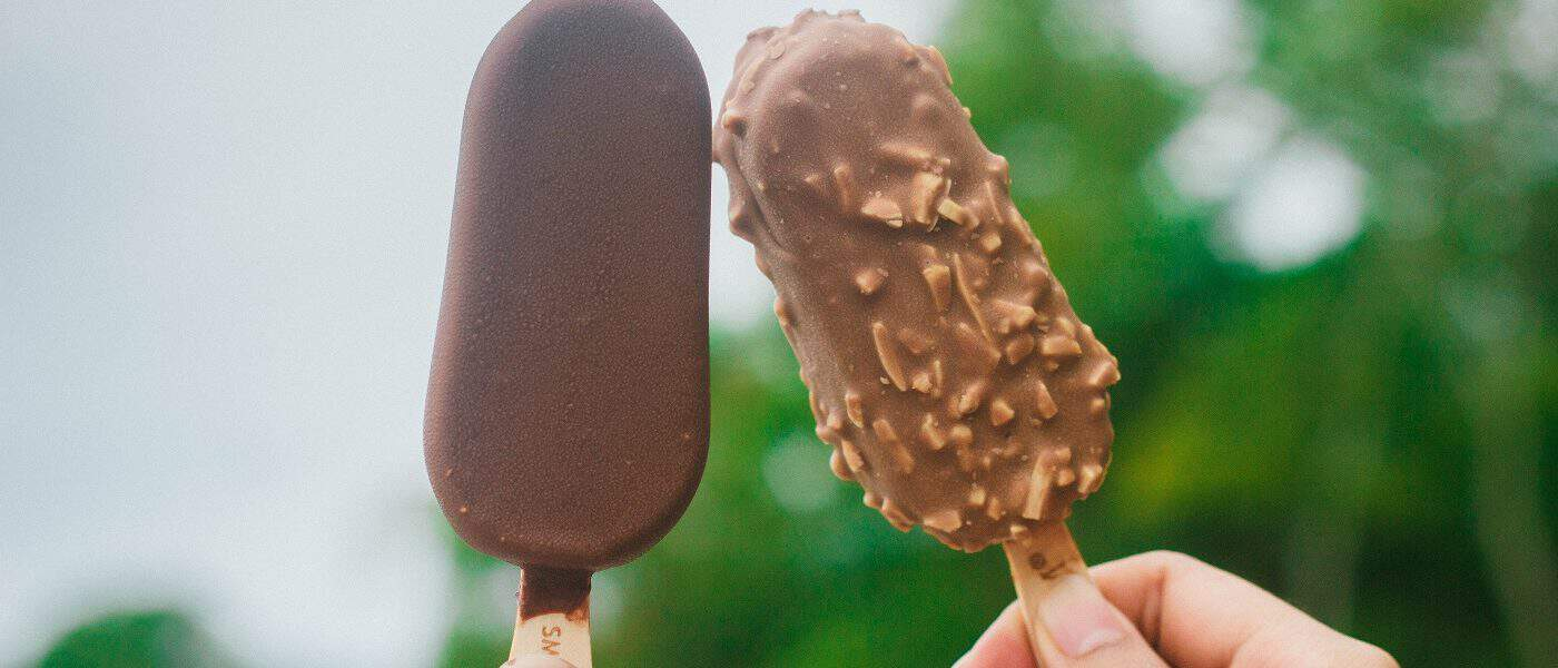 Two chocolate popsicles - Self-trust and compassion