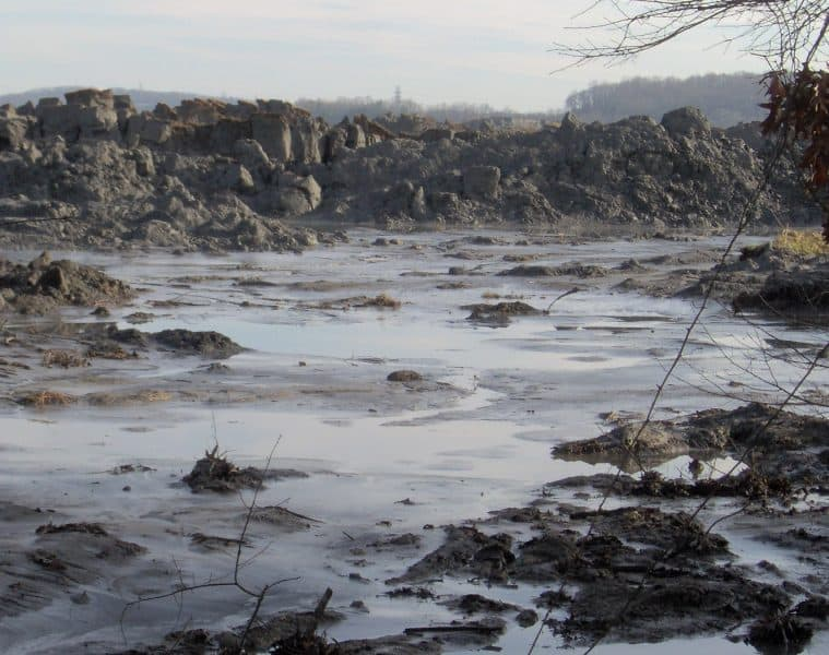Waste spill in Kingston, Ontario pond - The Hidden Worlds