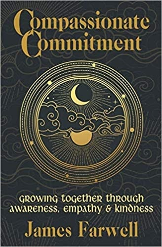 Front cover of book - Compassionate commitment
