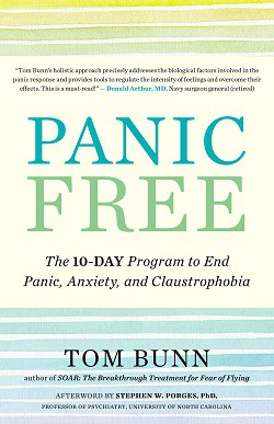 Front cover of book - Panic free