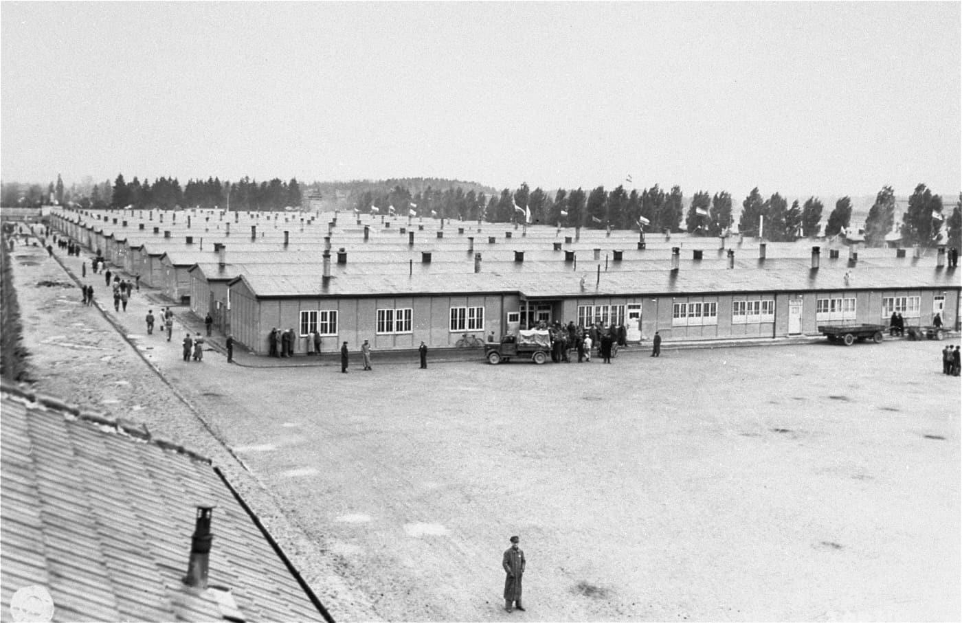 Prisoner's barracks at Dachau concentration camp