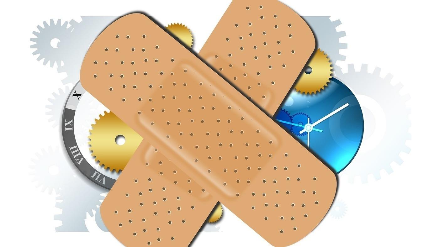 bandaids crossing