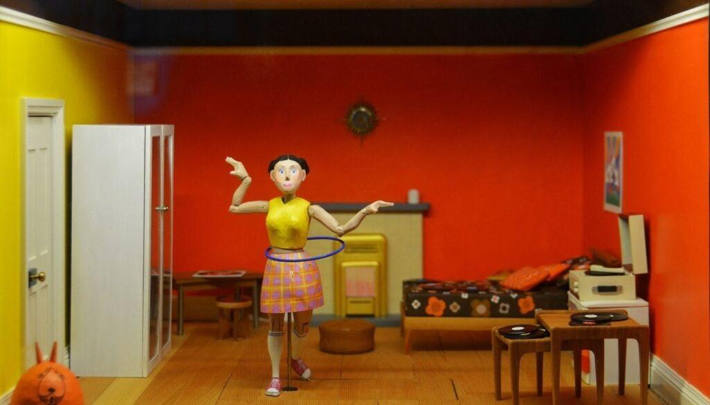 Clean little dolls house