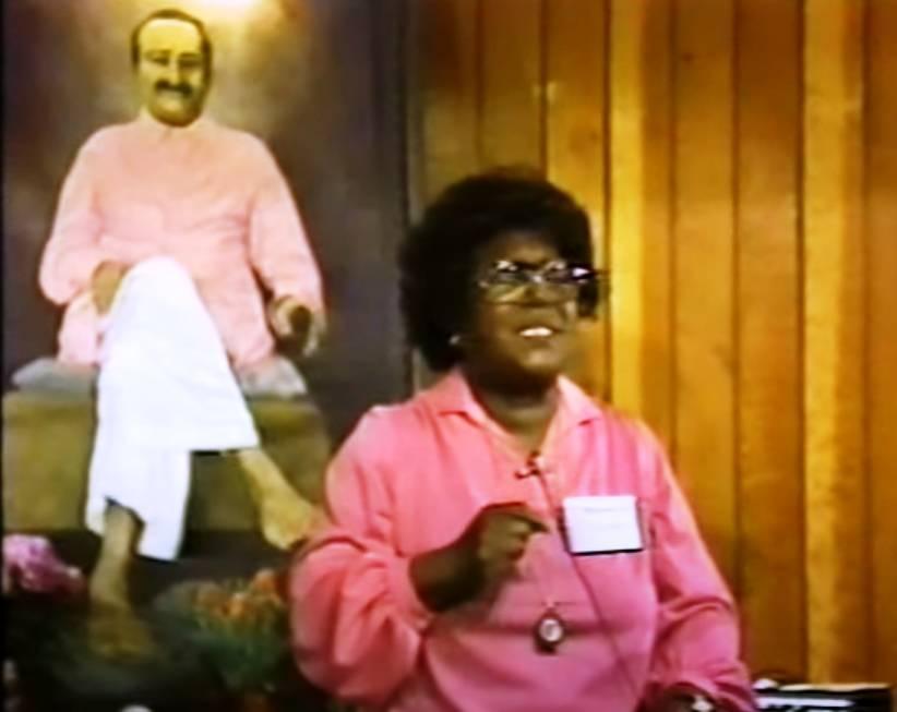 Meher Baba and Bernice Ivory